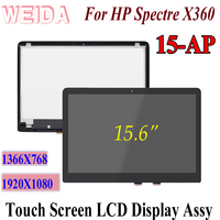 WEIDA LCD Touch Replacement For HP Spectre x360 15 AP 15 AP 15.6 LCD Display Digitizer Assembly 15 AP 15 AP011DX 1920X1080