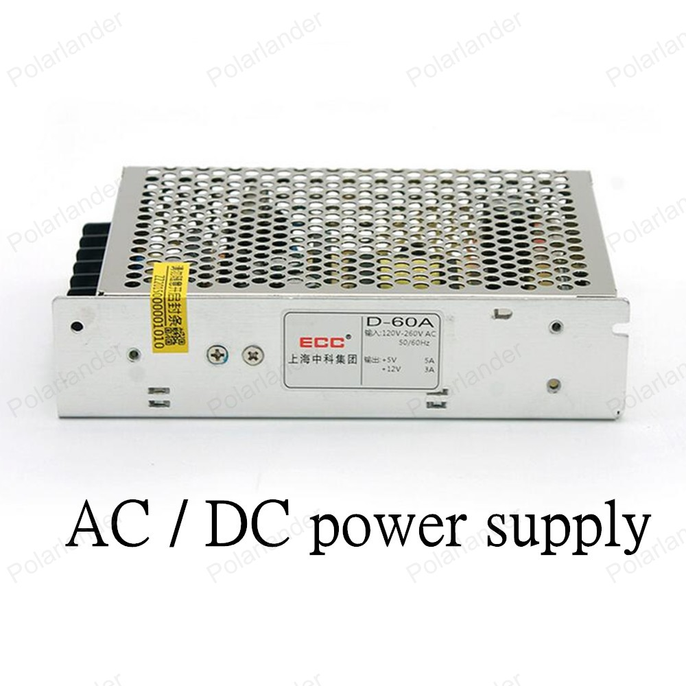 High Quality LED Driver Switching Power Supply AC/DC 12V 50W dual output Voltage Transformer for Led Strip Display Billboard