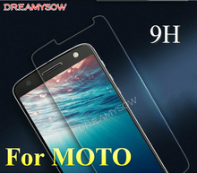 Dreamysow Front 2.5D HD Screen Protector Protective Film 9H Tempered Glass for MOTO G4 Plus/Play G3 G2 G E3 E2 E X3 X2 X Z Force