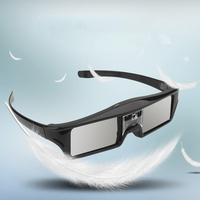 db09aac8e Óculos de Obturador Ativo DLP LINK 3D para Sharp LG Projetores. 3D Active  Shutter Glasses DLP LINK 3D Glasses For Sharp LG Projectors