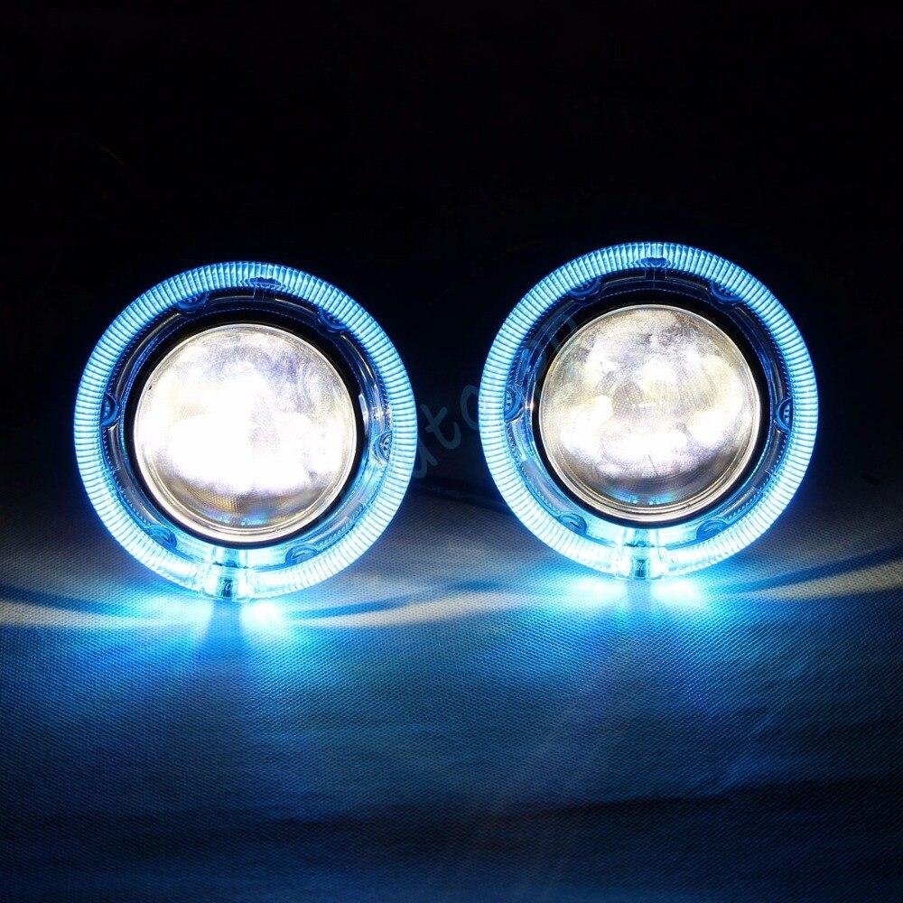 Avtomobil LED fənərləri RGB mələk gözləri Bluetooth App Auto - Avtomobil işıqları - Fotoqrafiya 2