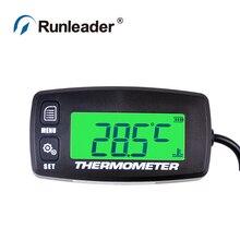 Цифровой TS002 PT100-20+ 300 темп-датчик темп-метр температурный термометр для UTV гидроцикл парамотор Багги планер ATV