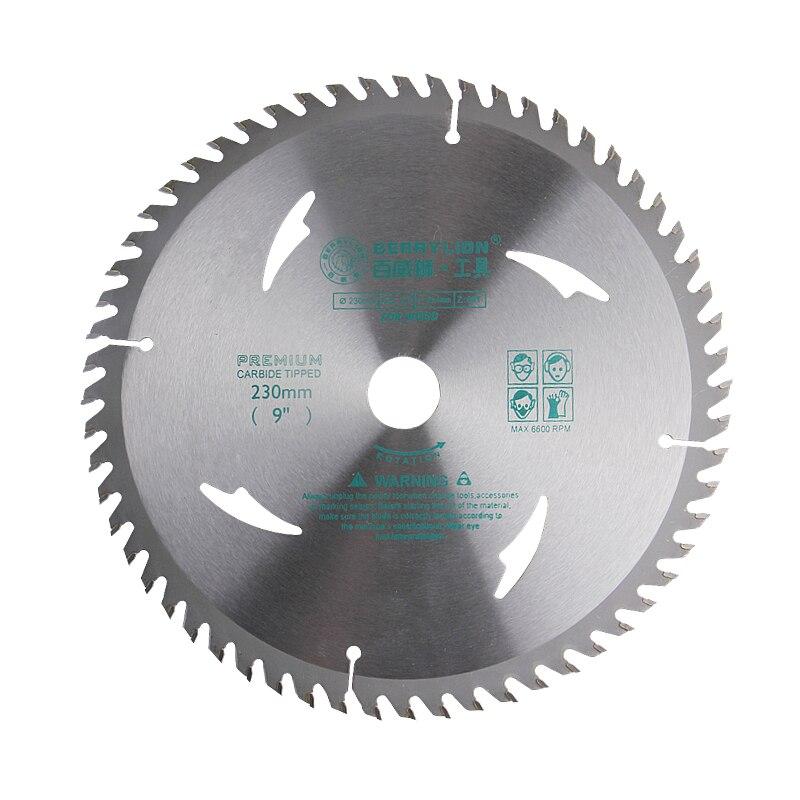 9/230mm Circular Saw Blade 40/60/80 Teeth Alloy Steel Wheel Discs For Woodworking Cutting Aluminum Wood Iron Plate Power Tool