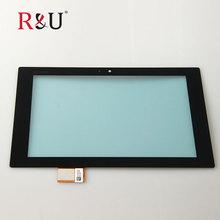 R & u высокое качество 10.1 «Сенсорный экран стекла Digitizer Замена за пределами экрана для Sony Xperia Tablet Z Z1 SGP311 SGP312 SGP321