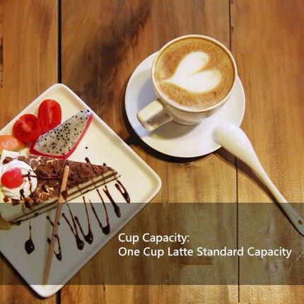 Tasse en céramique européenne tasse à café ensemble créatif Simple ménage fleur thé tasse anglais après midi thé ensemble intégré chauffage bureau - 5