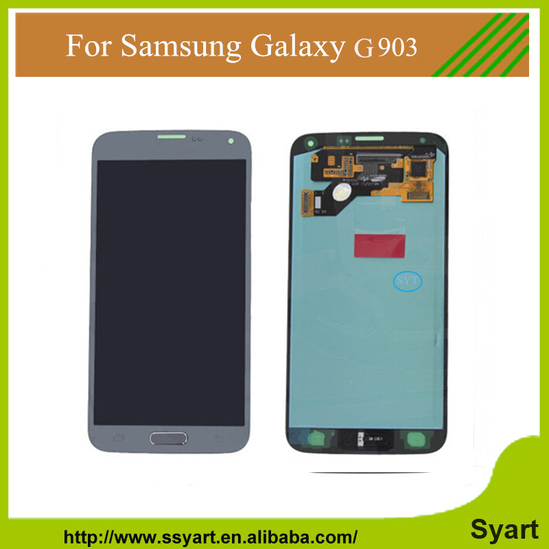 S5 LCD screen assembly for samsung Display Touch Screen Digitizer For Samsung GALAXY S5 G900 G900f G900t G900a 10PCS DHL