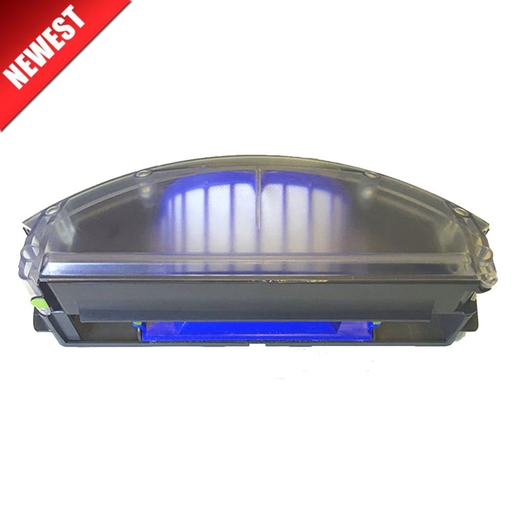 Novo Para iRobot Roomba 500 Série 600 Aero Vac Filtro Aerovac bin Bin Poeira collecter 510 520 530 535 540 536 531 620 630 650