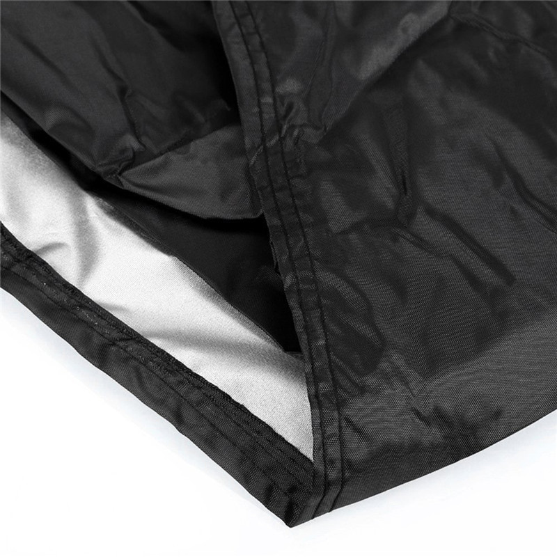 Image 2 - Black Polyester Lounge Chair Dust Cover Waterproof Outdoor Garden Patio Home Furniture Beach Chairs Protection Bag AC028-in All-Purpose Covers from Home & Garden