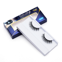 Women S Fashion High Quality False Eyelash 3D 1 Pair Real Mink Naturally Eyelash For Eye