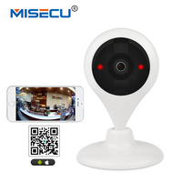MISECU 180 Degree Panaromic WiFi 1 44mm Lens HD Camera Wireless 64GB SD P2P 2way Audio