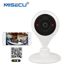 MISECU 180 degree Panaromic WiFi 1.44mm lens HD Camera Wireless 64GB SD P2P 2way audio Onvif P2P motion detect Baby Monitor CCTV