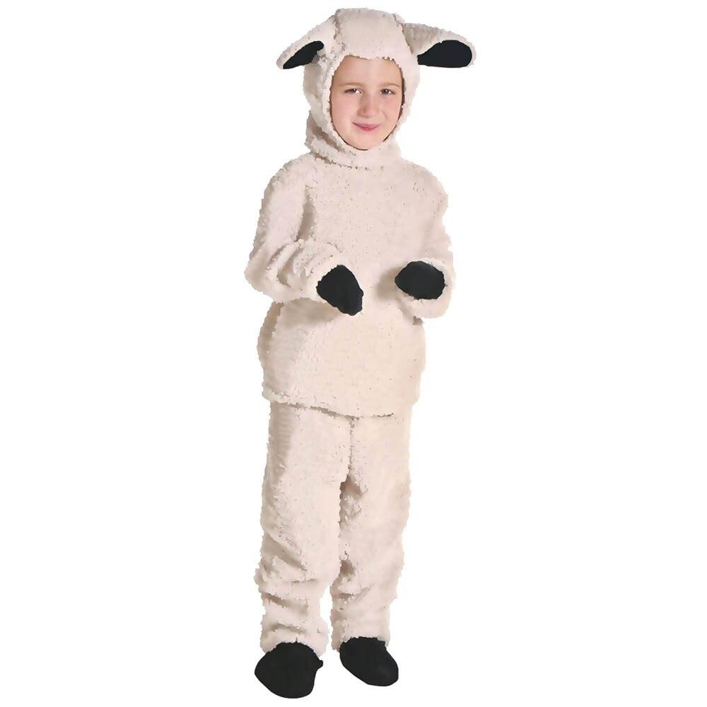 Adult Kids sheep Costume Little sheep Costume Animal Jumpsuit Fancy Dress Carnival Halloween Costumes Animal Cosplay