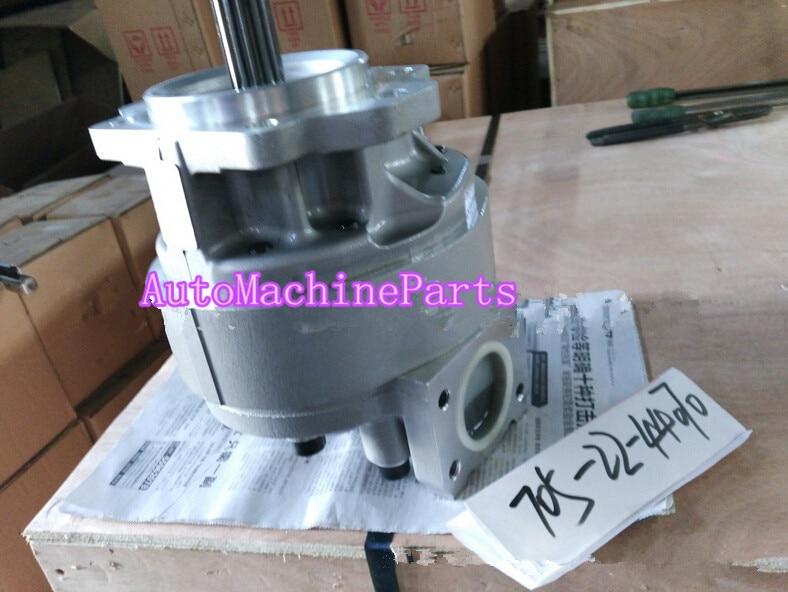 Hydraulic Pump 705-22-44070 Fits For Komatsu Wheel Loader WA470-3/WA500-3 D155AX-5 NEW pc400 5 pc400lc 5 pc300lc 5 pc300 5 excavator hydraulic pump solenoid valve 708 23 18272 for komatsu