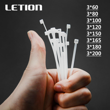 1 packet 1000pcs 3*Various lengths Self-Locking Plastic Nylon Wire Zip Ties White Cable Ties Fasten Loop Cable Free Shipping 100pcs white self locking cable tie high quality nylon fasten zip wire wrap strap 2 5x100mm 2 5x150mm plastic