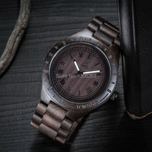 Hot Ebony Wristwatch Gift
