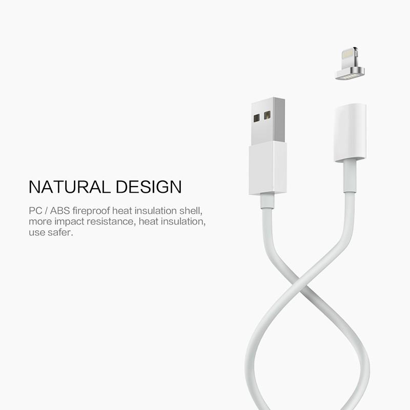 2.4a magnetyczny kabel micro usb cable dla iphone 6 6s 7 plus 5S 5 android samsung telefon komórkowy ładowania danych magnet ładowarka kabel 4