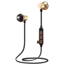 Sport Bluetooth Headset Wireless Stereo Music Neck Band Handsfree Magnetic Earphone Support TF Card for Smartphones
