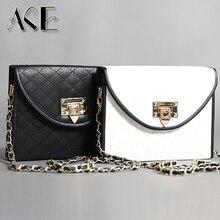 Новый vintage fashion дизайн пряжки классический Стеганые цепь сцепления вечерняя сумочка сумка книги повседневная сумка кошелек