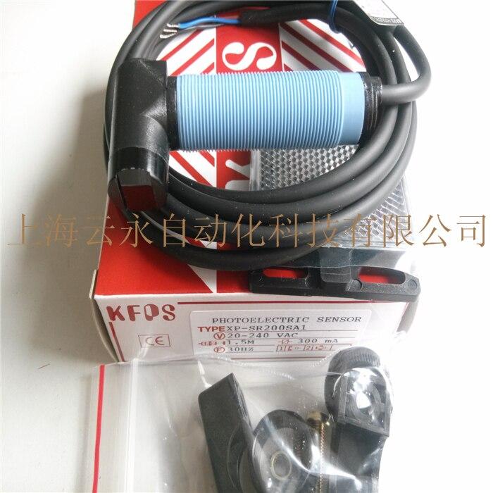 new original XP-SR200SA1  Taiwan  kai fang KFPS photoelectric sensor 100% new and original fotek photoelectric switch a3g 4mx mr 1 free power photo sensor