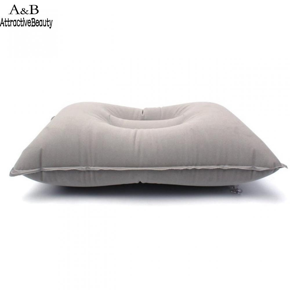 Pillow Pillow Comfortable Outdoor Travel Camping Home Office Sleeping Self-Inflating Portable Inflatable PVC Flocking Fleece цены онлайн