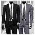 2016 new arrival terno masculino, Men's coat slim suits business blazer, two piece mens suits with pants