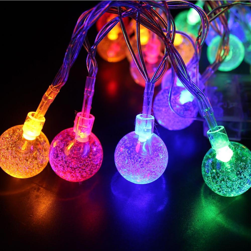 Aliexpress.com : Buy 20 Solar Powered LED Bulbs Patry ... on Deck String Lights Ideas id=43517