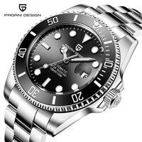 Reloj Hombre Pagani Design Men Watch Luxury Waterproof Military Automatic Mechanical Sport Watches Army Clock Relogio Masculino