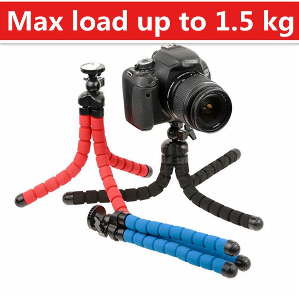 Flexible caméra trépied Flexible Leg Mini Trépied pour Appareil Photo Numérique et téléphone Charge-Portant à 1.5Kg Gorillapod