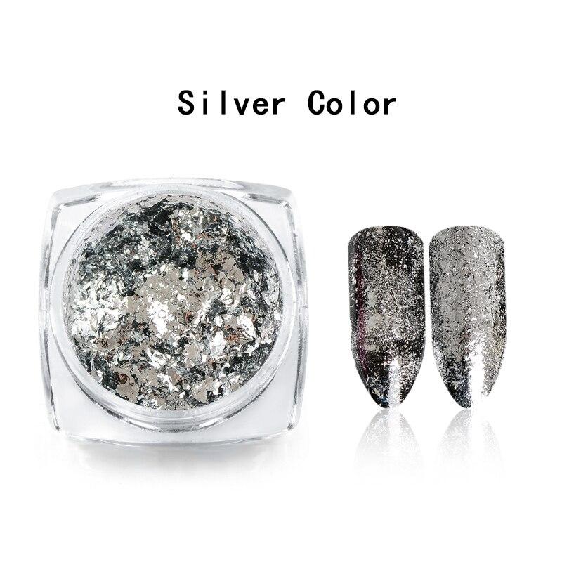 Волшебное зеркало блеск для ногтей Dip порошок Сияющий хром пигмент пыль голографическое искусство ногтей Маникюр УФ пудра для ногтей гель лак - Цвет: VW3859