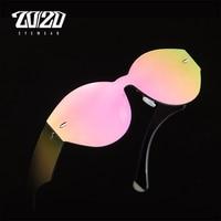 20 20 Brand Sunglasses Women Shades Men Retro Flat Top Round Design Vintage Female Sun Glasses