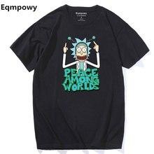 Rick Morty Cartoon Men T-Shirt 2018