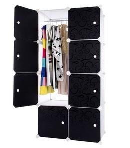 El acabado del gabinete gabinete combinación pedazo magia DIY Tela Armario Gabinete PD0808