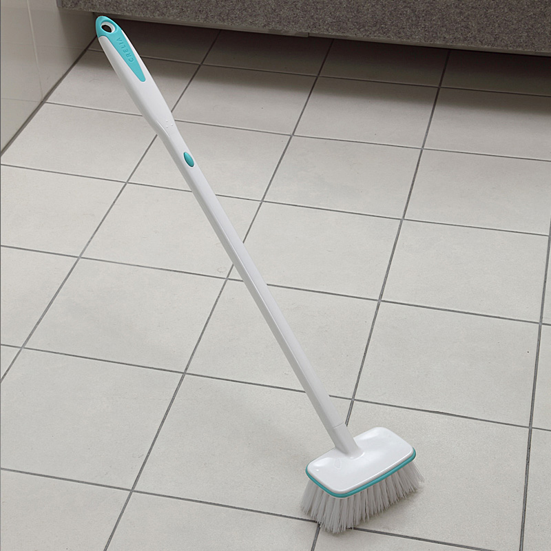 Tile floor steam cleaner with brushes thefloors co for Cleaner for bathroom tiles