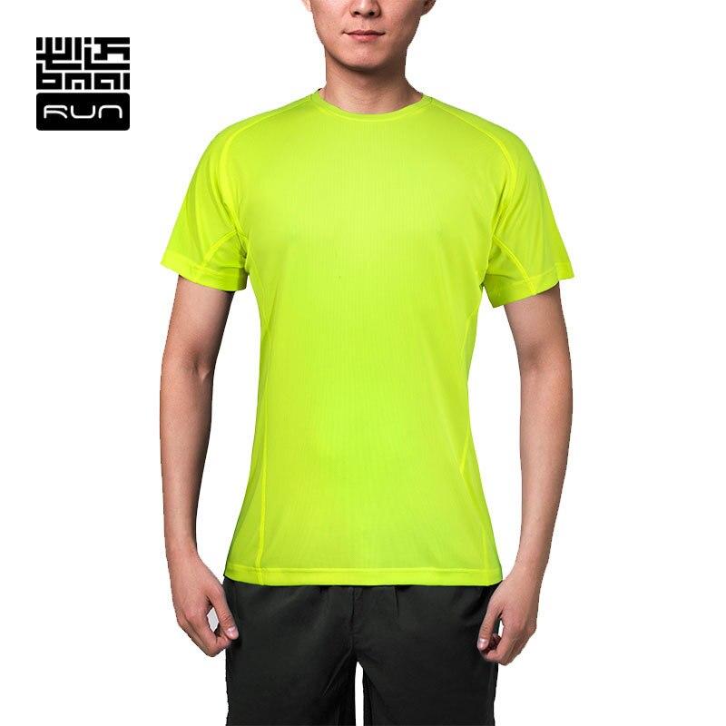 BMAI Man  Running Tshirts Breathable Coolmax Tee Marathon Shirts Woman Elastic Quick Dry Tights Fitness Yoga Shirts Tops mens quick dry breathable fitness tees casual bodybuilding running short sleeve t shirts