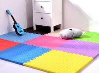 60cm 1 2cm Baby Jigsaw Puzzle Mats Leaf Pattern Foam Floor Carpet Crawling Game Mats Excersizing