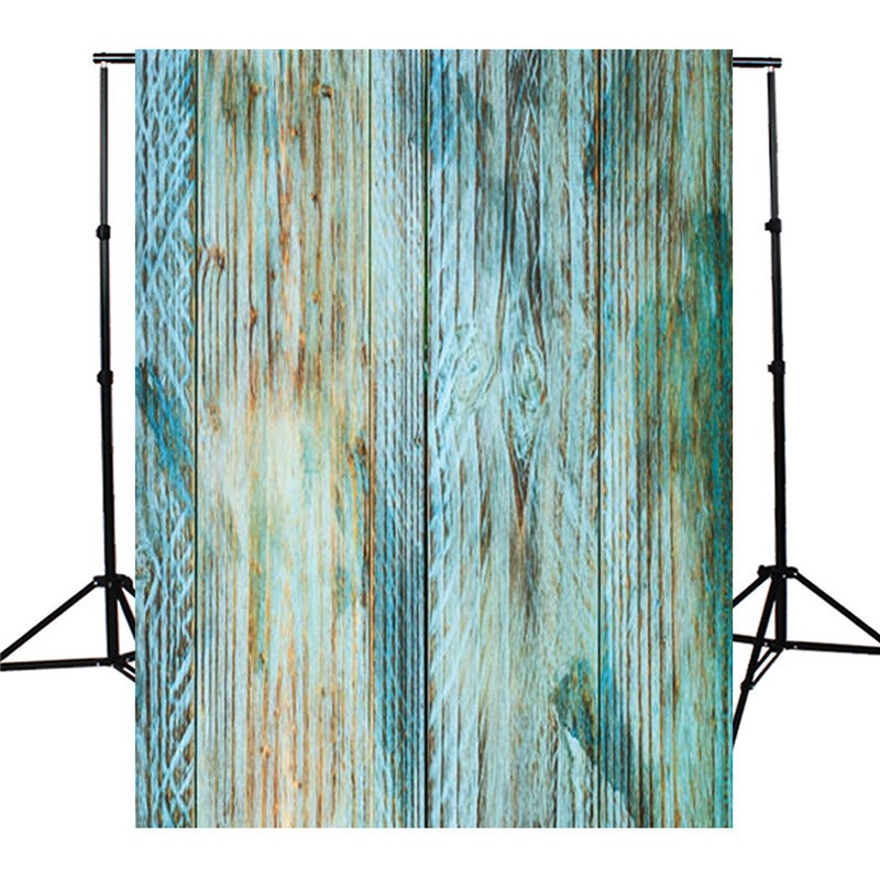 3x5ft Blue Board wood Wall floor Photography Background For Studio Photo Props Photographic Backdrops 90 x 150cm cloth dark wall photography backdrops indoor wood floor photo background studio props custom vintage backdrop fotografia