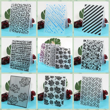 Heart  Leaves Plastic Embossing Folder for Scrapbooking Paper Card Making DIY Craft Album Scrapbooking Decoration стоимость