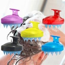 Прямая поставка, 1 шт., гребень для мытья волос для салона, силиконовый шампунь для спа-процедур, щетка для душа и ванны, расческа для волос, реквизит, мягкая расческа для волос, инструмент для укладки