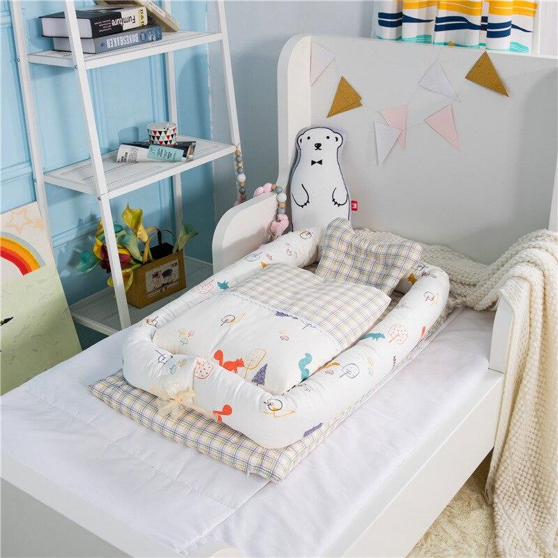 Детская подушка предотвращает плоскую голову форменная Подушка Одеяло детская подушка новорожденное украшение детской комнаты дорожная кровать для детей Моющаяся - 6