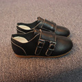 New children shoes bright skin leather shoes the bulk of non-slip boots children boys and girls leather shoes casual shoes