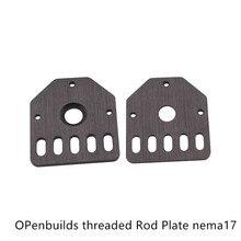 Openbuilds Резьбовая стержневая пластина NEMA 17 шаговый двигатель T3x59.29x53 мм
