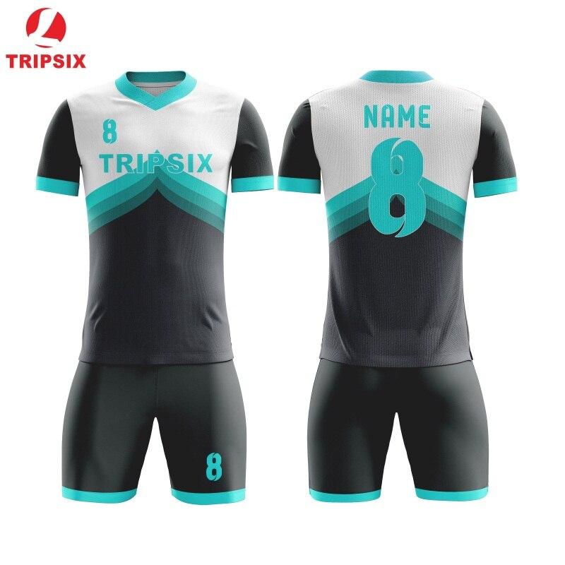Ster Patroon Sublimatie Persoonlijke Naam En Nummer Voetbal Jersey - 5