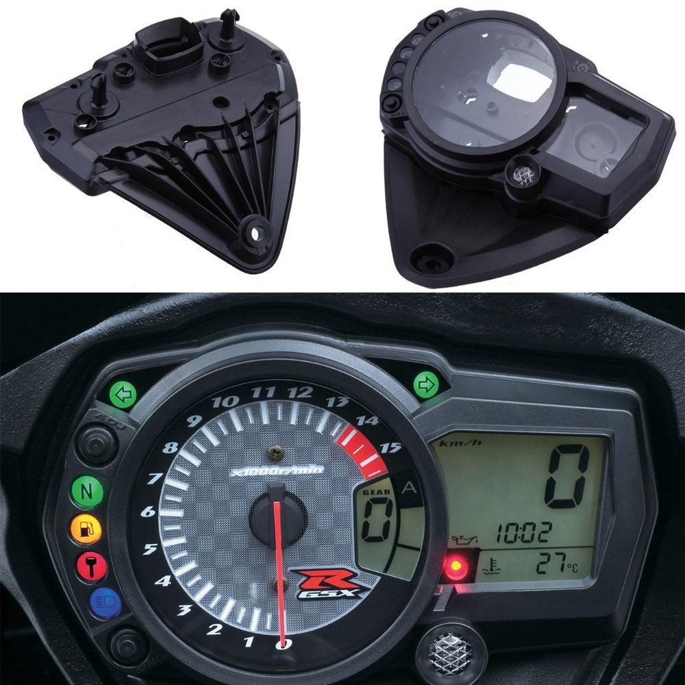Motorcycle Speedometer Speedo Meter Instrument Tachometer Guages 2006 Gsxr Wiring Diagram Case Cover For Suzuki Gsxr1000 1000 2005 05 06 In Covers Ornamental Mouldings