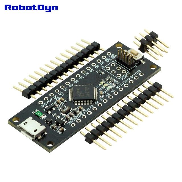 SAMD21 M0-Mini. 32-bit ARM Cortex M0 core. Pins Abgelötet. kompatibel mit Arduino Null, Arduino M0. Form Mini.