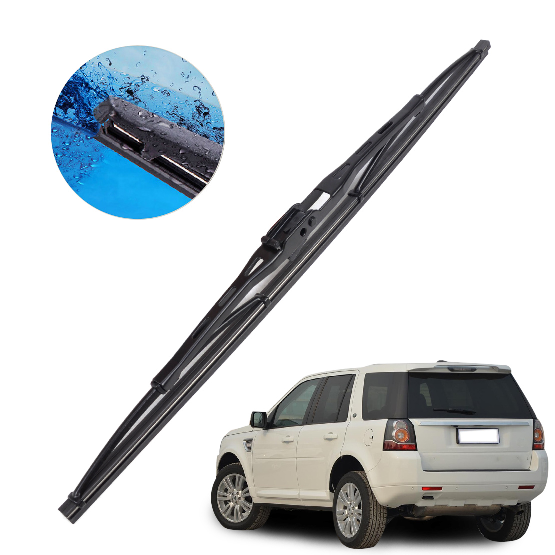 CITALL Stronger Resistance Rear Window Windshield Windscreen Wiper Blade For Land Rover Range Rover Sport 2006 - 2009 2010 2011