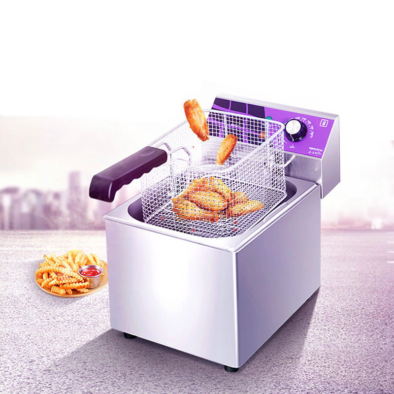 Electric Deep Fryers Commercial oil fryer electric frying