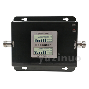 Image 5 - 65dB Gain 17dBm LCD Display Dual Band Booster 2G GSM 900 4G DCS/LTE 1800 Cellular Mobile Signal Repeater Amplifier Up to 500sqm