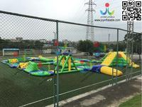 Popular Giant Water Park Inflatable Water Slides