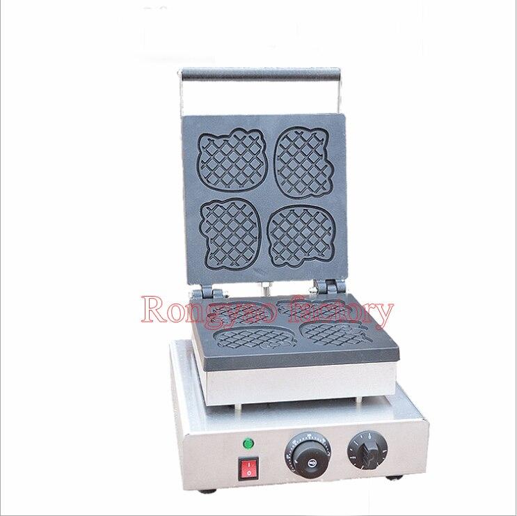 Doraemon molde wallfe RY-FY-2218B Elétrica padeiro máquina máquina bolinho comercial equipamentos de cobra 5 minutos de alta eficiente