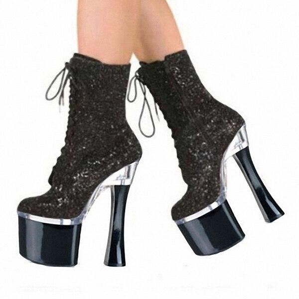 Sexy stripper boots